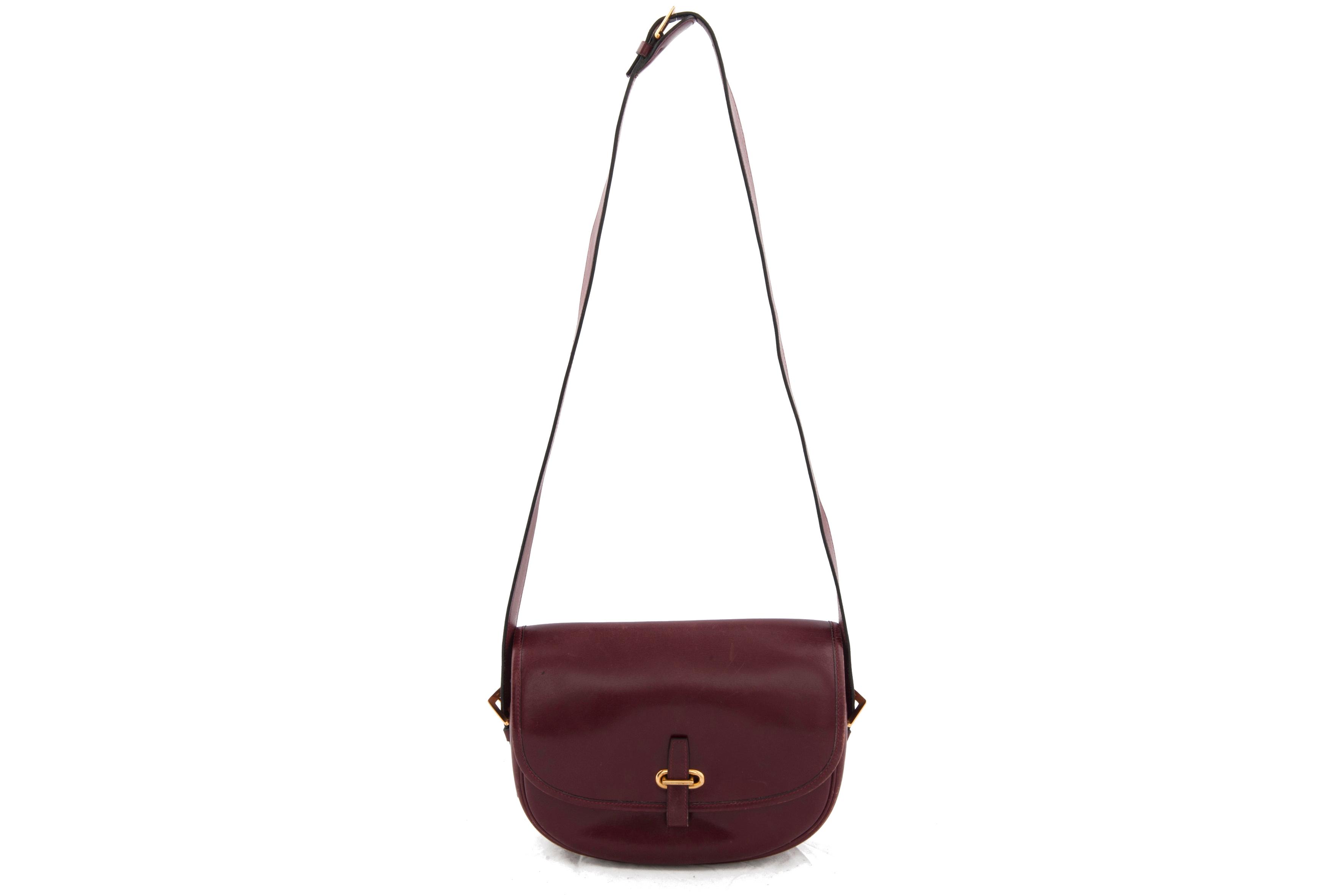 Hermes \u0026#39;\u0026#39;balle de golf\u0026#39;\u0026#39; red box leather - Vintage Shop in Mykonos