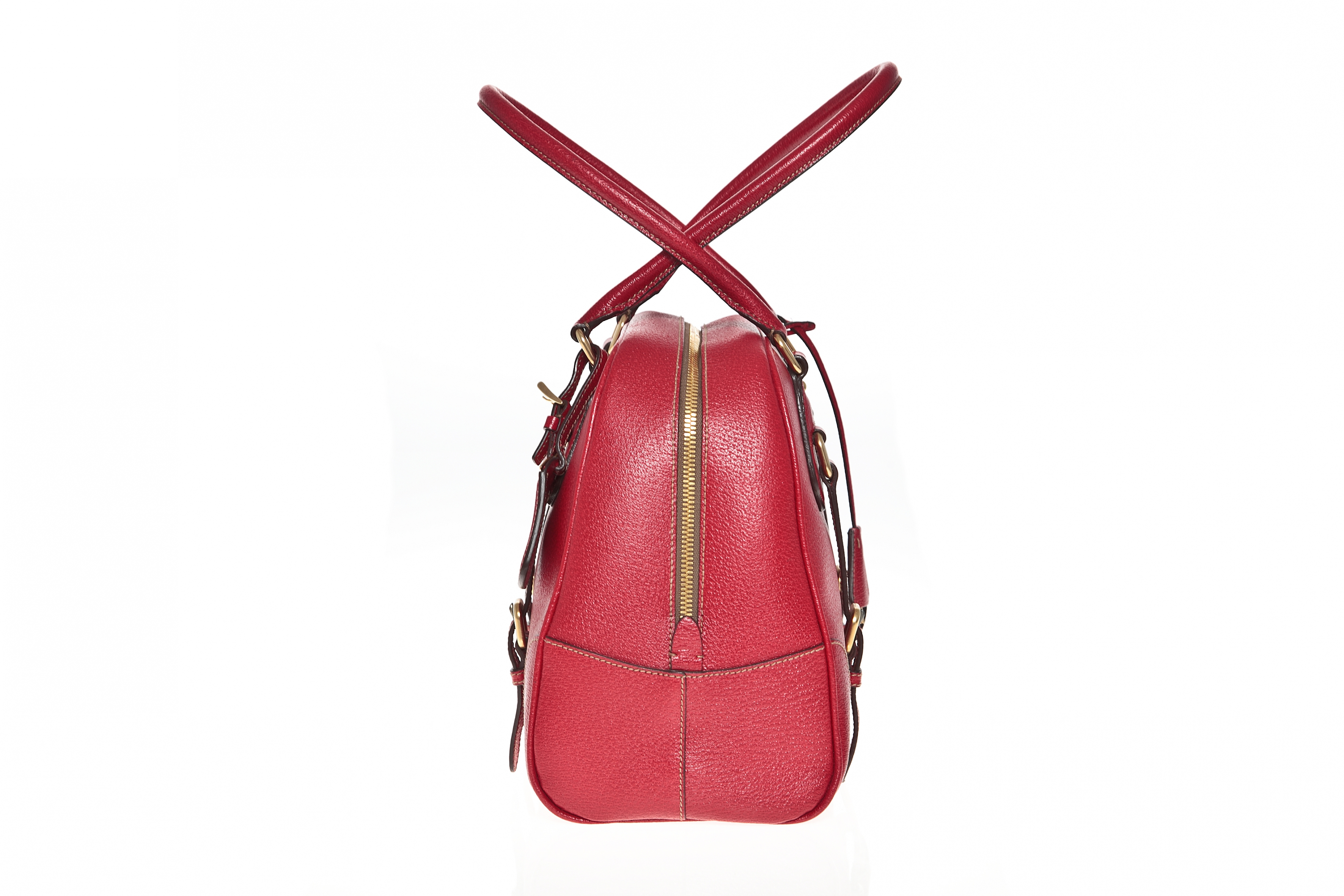 Prada red leather handbag - Vintage Shop in Mykonos