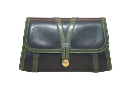 Hermès blue and green leather custom order