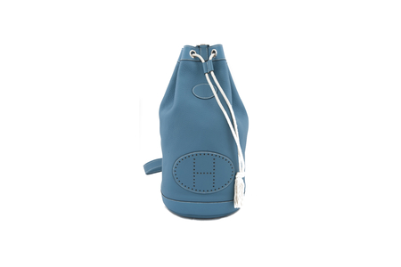 Hermes bag ''marin'' blue leather