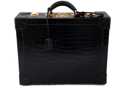 Hermes rare crocodile attaché-case