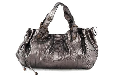 Gerard Darel ''24 H'' python handbag