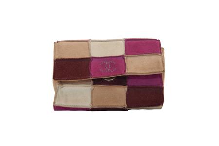 Chanel mini-pochette in suede