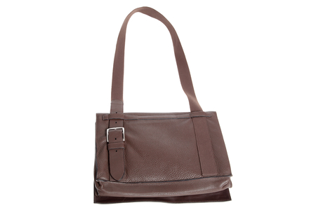 Hermes ''besace'' in chocolate brown leather