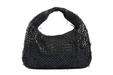 Bottega Veneta black ''Veneta'' Hobo shoulder bag