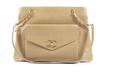 Chanel vintage beige tote bag