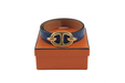 Hermes ostrich ''chaine d'ancre'' belt