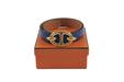 Hermes ostrich ''chaine d'ancre'' belt