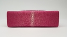Stingray mini clutch bag pink