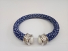 Royal blue stingray bangle