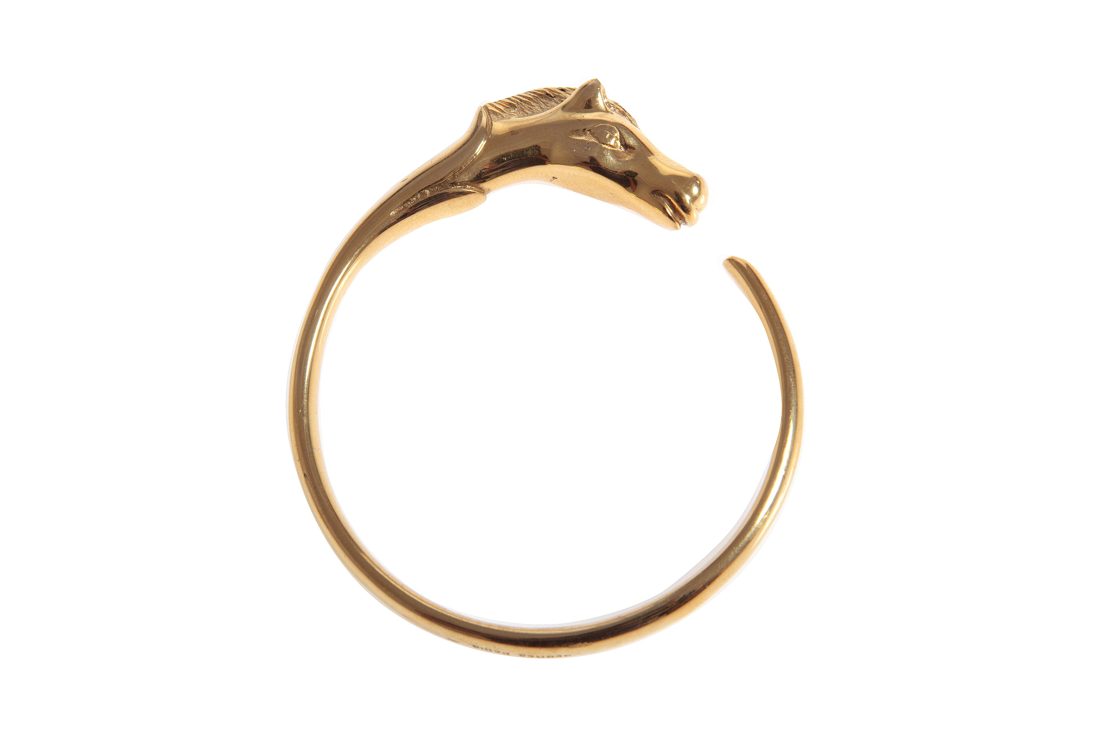 Hermes ''horse head'' bracelet