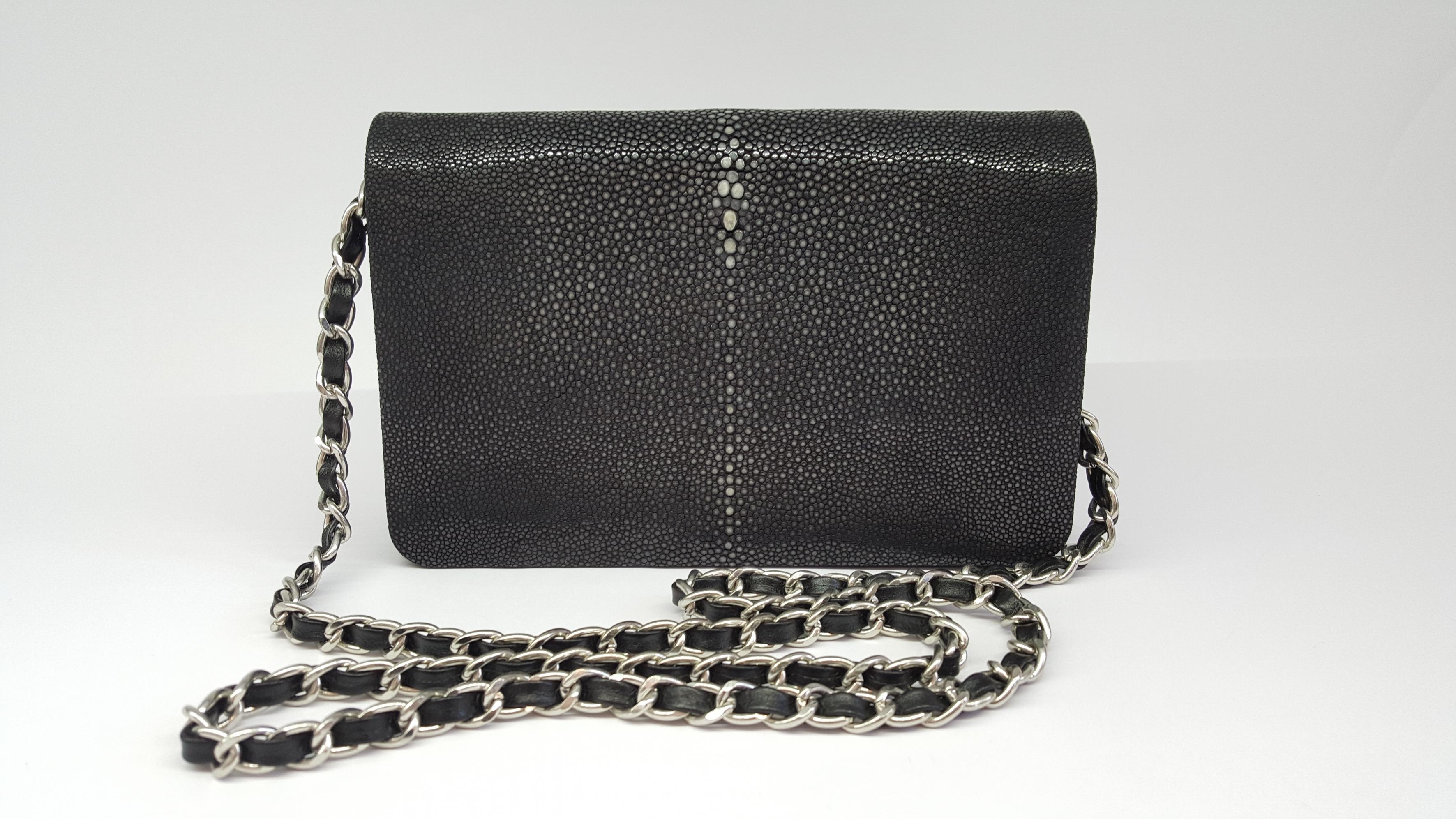77418175597a Stingray bag small black - Vintage Shop in Mykonos