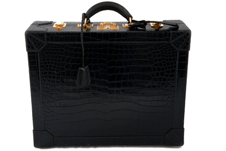 hermes attache-case crocodile