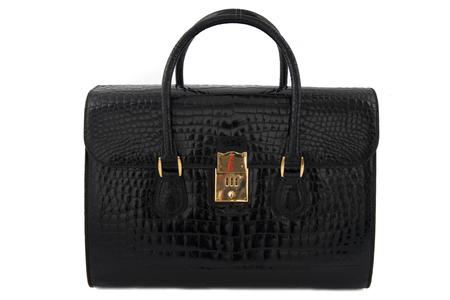 Gucci crocodile suitcase