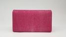 Stingray mini clutch bag pink