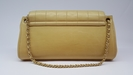 Chanel beige quilted handbag